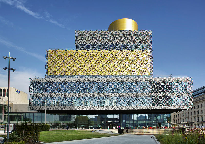 Projeto de biblioteca: Library of Birmingham