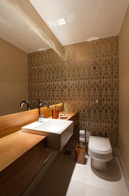 Tipos de cuba para banheiro: cuba de semiencaixe (Projeto: Mariana Borges e Thaysa Godoy)