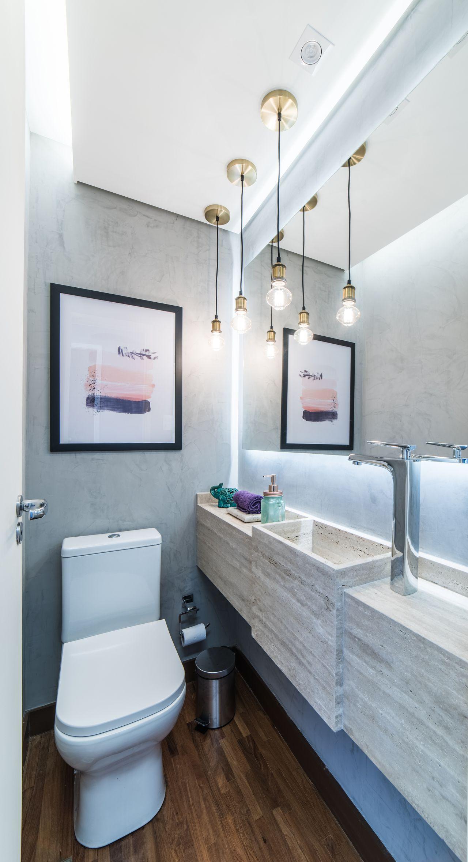 Tipos de cuba para banheiro: cuba esculpida (Projeto: Pietro Terlizzi)