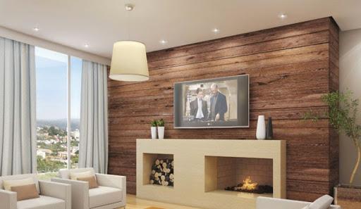 Iluminação de sala de TV: spots embutidos