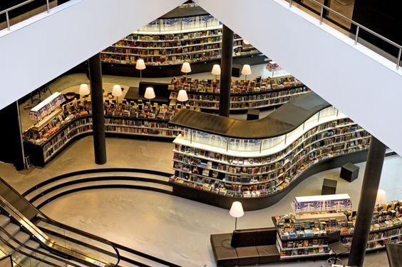 Projeto de biblioteca: Biblioteca De nieuwe Almere