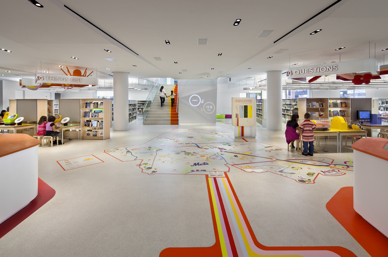 Projeto de biblioteca: Biblioteca infantil The Children's Library Discovery Center (CLDC)