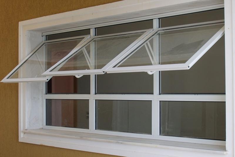Tipos de janelas: janela Maxim-mar