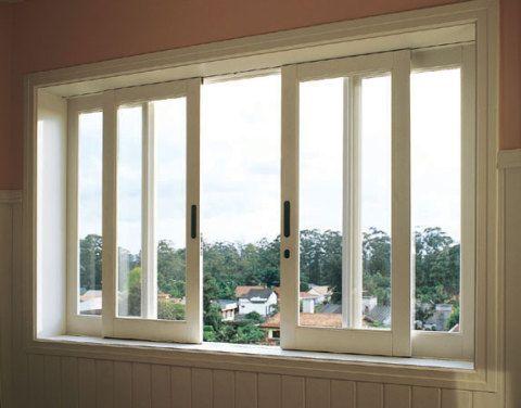Tipos de janelas: janela de correr