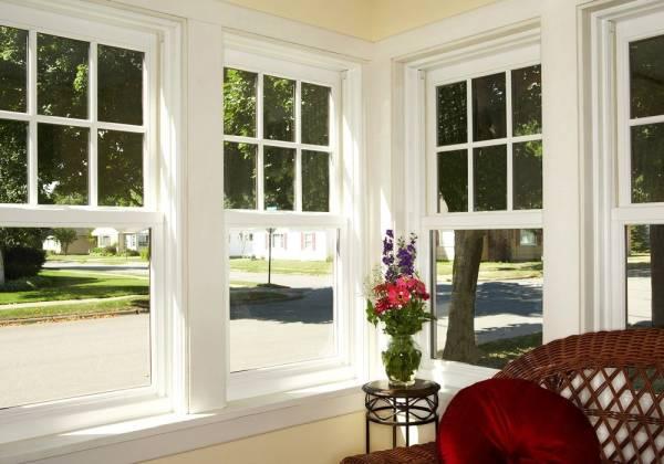 Tipos de janelas: janela tipo guilhotina