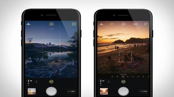 Aplicativos de fotos: Halide Camera
