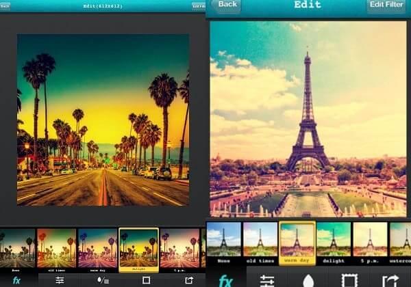 Aplicativos de fotos: Vintique