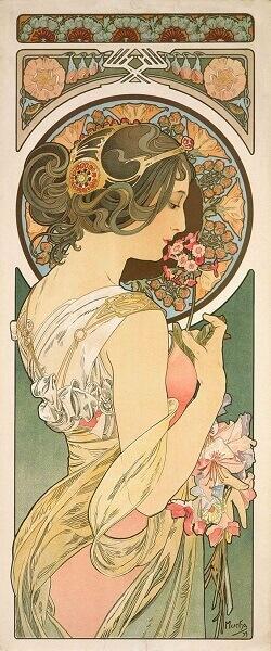 Art Nouveau: Alfons Maria Mucha