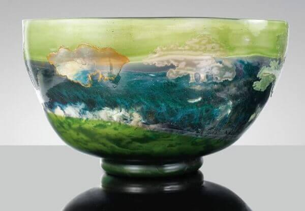 Art Nouveau: Vaso Corte da Natureza