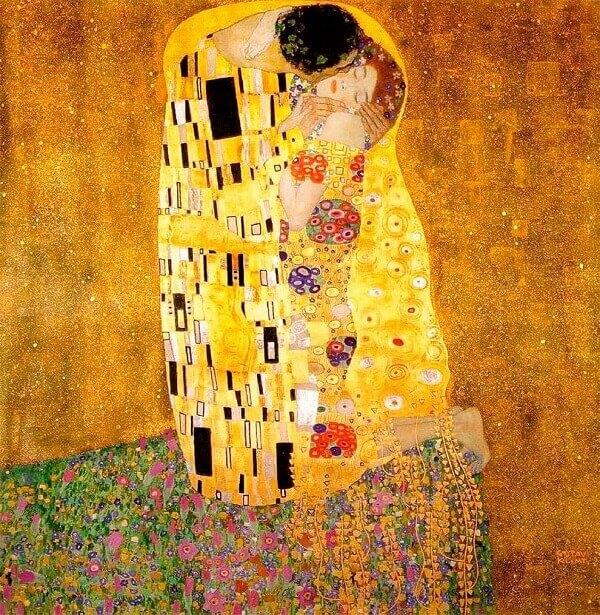 Art Nouveau: O Beijo