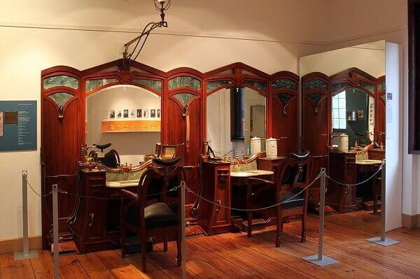 Art Nouveau: Salão de Cabeleleiro de François Haby em Berlim