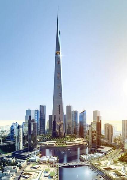 Burj Khalifa: Kingdom Tower também é candidato a prédio mais alto do mundo