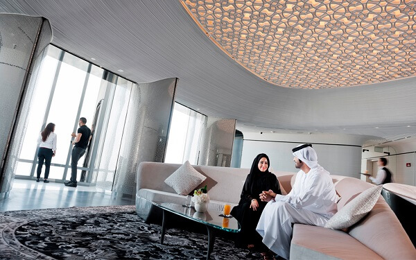 Burj Khalifa: Lounge At The Top