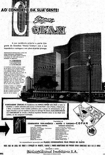 Copan: Anúncio do Copan