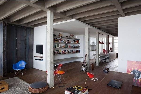 Copan: Apartamento Reformado - Projeto de Felipe Hess e Renata Pedrosa