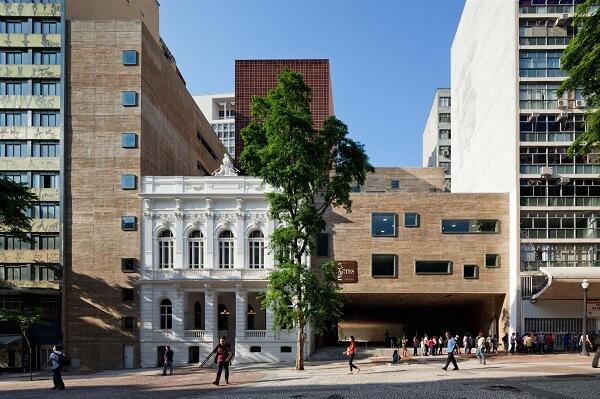 Praça das Artes: Edifício em Harmonia com o Conservatório Dramático e Musical