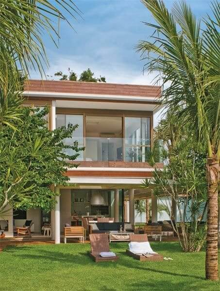 Steel Frame: casa de dois andares (projeto: Giovani Bonetti)