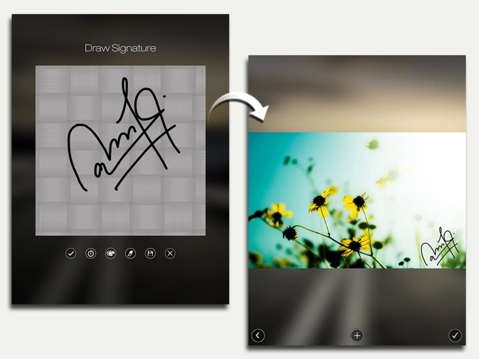 Aplicativos de fotos: eZy Watermark Lite