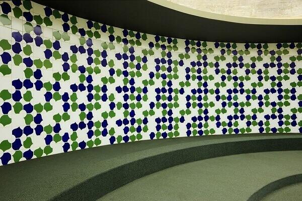 Catedral de Brasília: Composição dos Azulejos (Athos Bulcão)