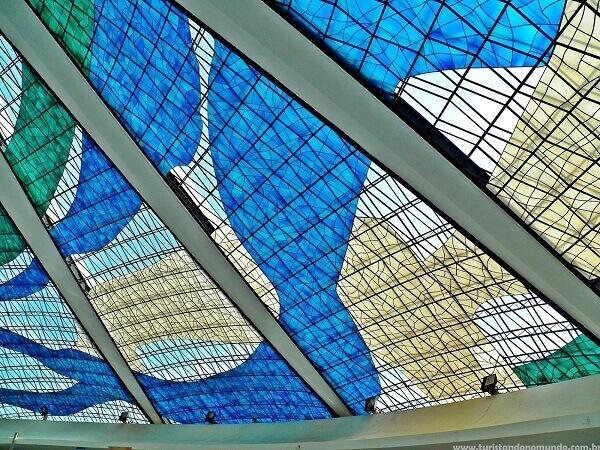Catedral de Brasília: Detalhes Vitral