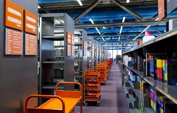 Centro Georges Pompidou: Biblioteca Pública de Informação (BPI)