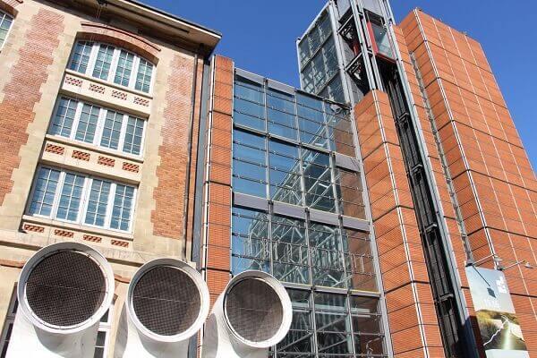 Centro Georges Pompidou: IRCAM
