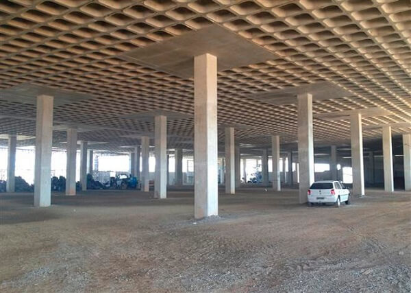 Laje de concreto: Laje Cogumelo