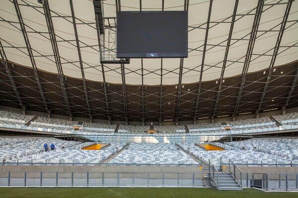 Maior Estádio do Mundo: Mineirão - Arquibancada