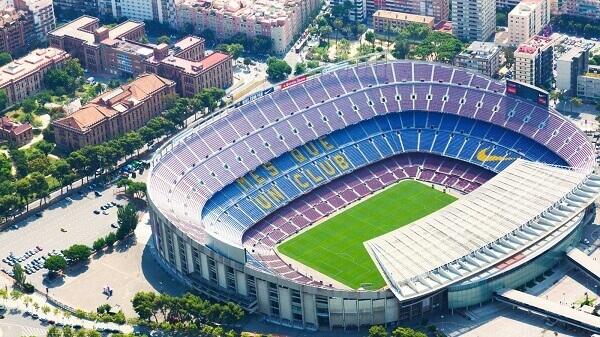 Maior estádio do mundo: Estádio Camp Nou