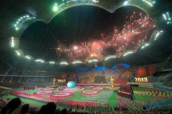 Maior estádio do mundo: Estádio Rungrado Primeiro de Maio - evento