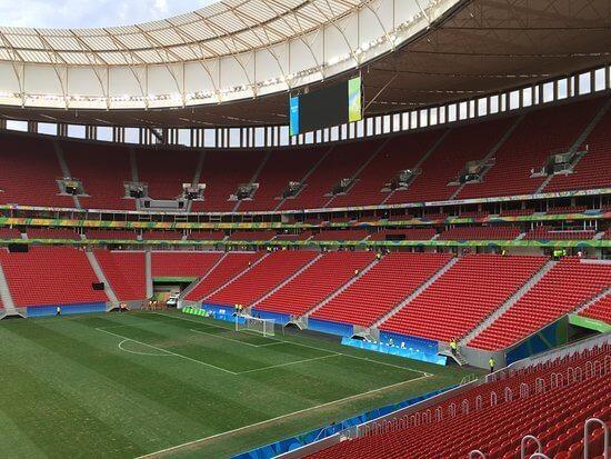 Maior estádio do mundo: Mané Garrincha - Arquibancada
