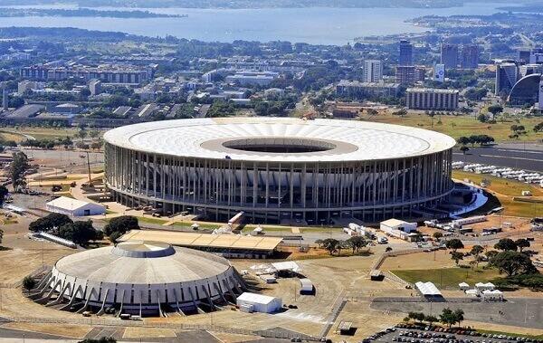 Maior estádio do mundo: Mané Garrincha