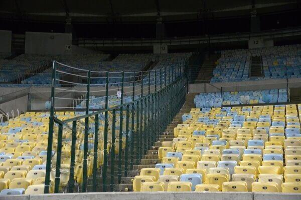 Maior estádio do mundo Maracanã: Arquibancadas