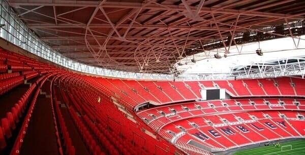 Maior estádio do mundo: Wembley Stadium - Arquibancada