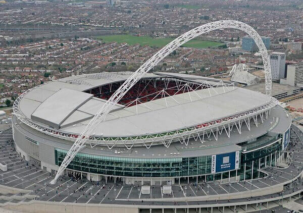 Maior estádio do mundo: Wembley Stadium