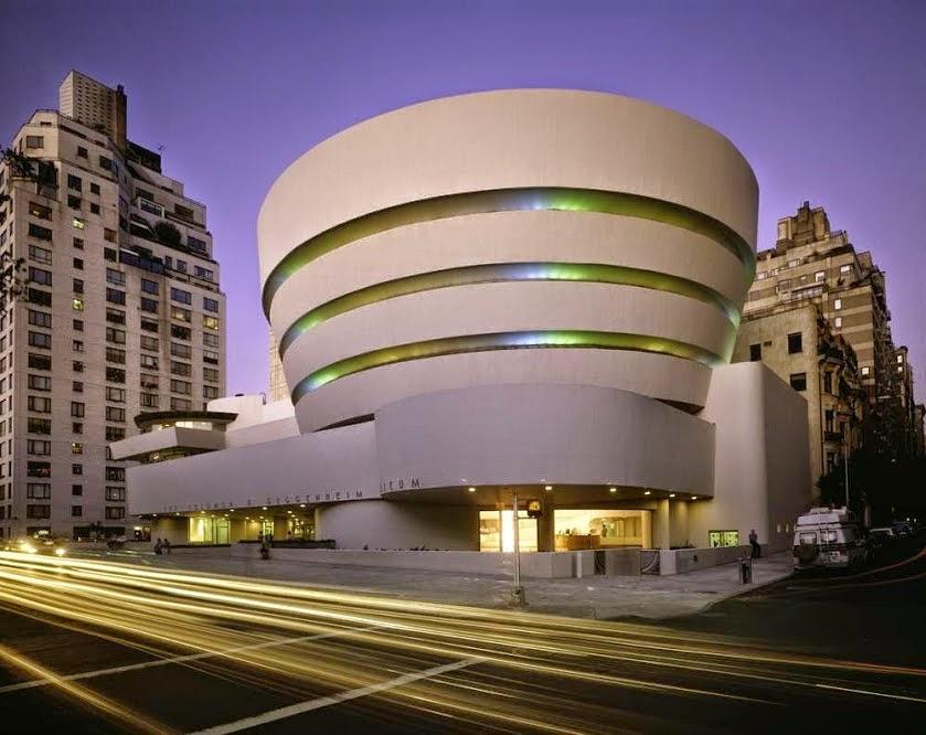 Museu Guggenheim Bilbao: Museu Solomon R. Guggenheim, em Nova York