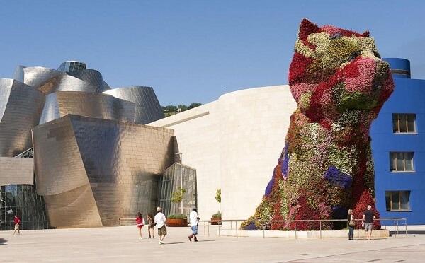 Museu Guggenheim Bilbao: Puppy