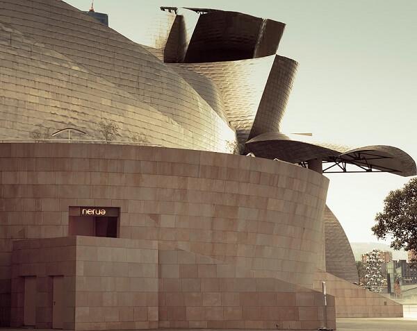 Museu Guggenheim Bilbao: Restaurante Nerue, o primeiro a ganhar a estrela Michelin