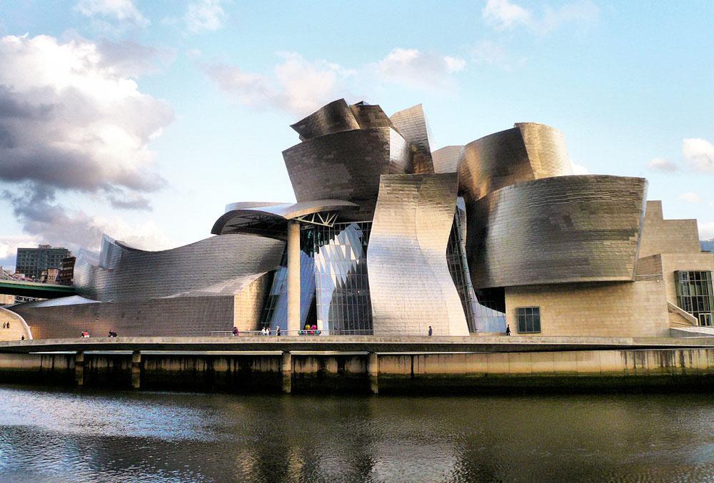 Museu Guggenheim Bilbao: vista do lado de fora