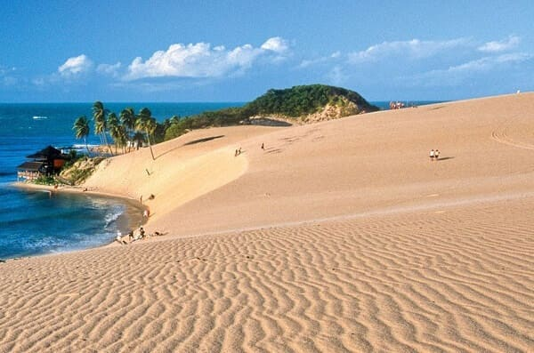 Tipos de solos: areia