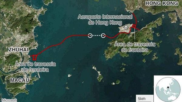 Maior ponte do mundo: percurso entre cidades