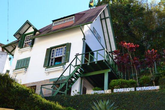 Escada Santos Dumont: Casa Santos Dumont, em Petrópolis