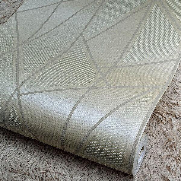 Papel de parede para teto de banheiro: tipo vinílico é o mais indicado (foto: Pinterest)