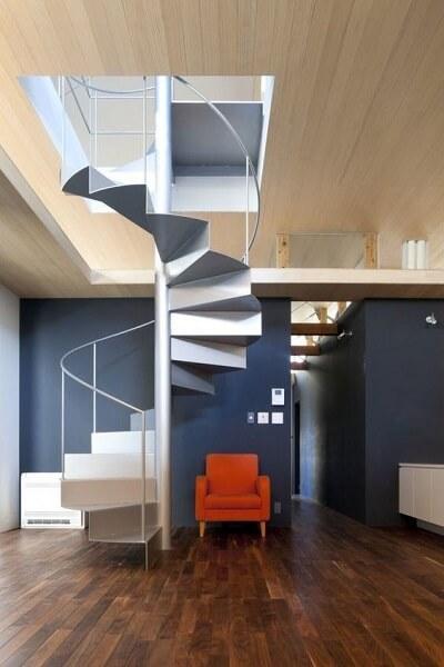 Escada Helicoidal de Ferro