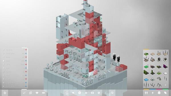 Jogos de construir: Block'hood (exemplo de construção)