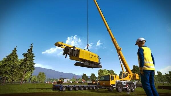 Jogos de construir: Construction Simulator (personagem)