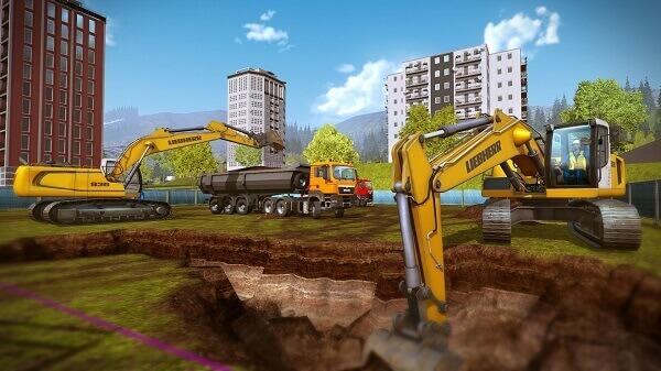 Jogos de construir: Construction Simulator