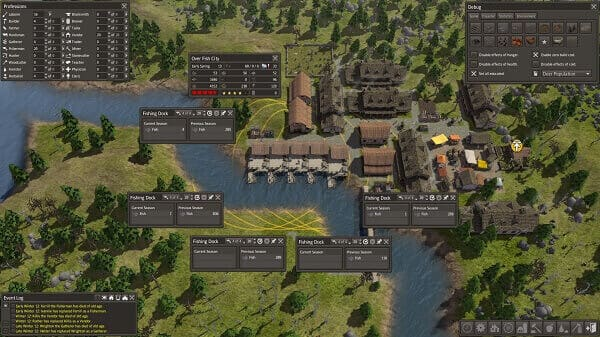 Jogos de construir: Life is Feudal Forest Village (Vila)