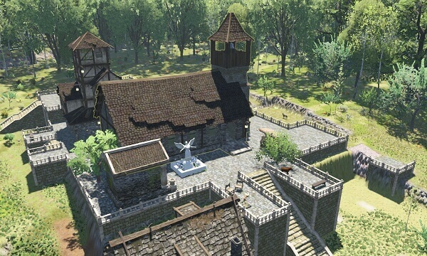 Jogos de construir: Life is Feudal Forest Village
