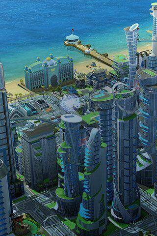 Jogos de construir: SimCity Buildlt